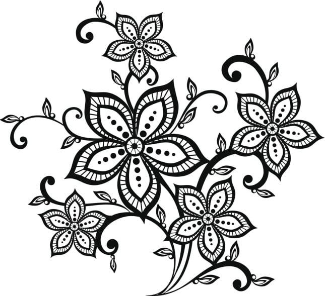 Un disegno dalle linee grafiche per un tattoo dal mood indie