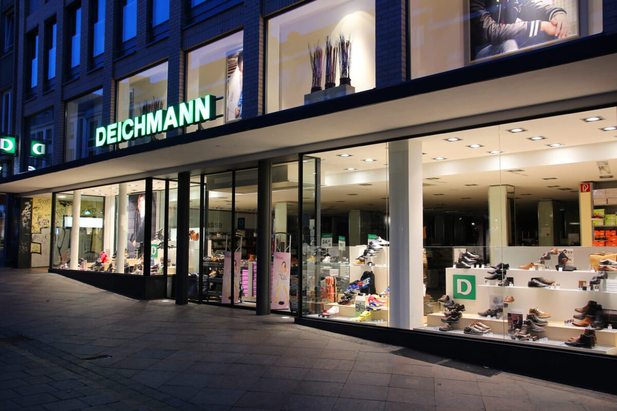 Deichmann shoe store