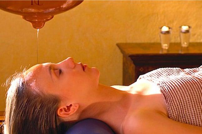 Terapie ayurvediche presso il Caesius Thermae e Spa Resort.