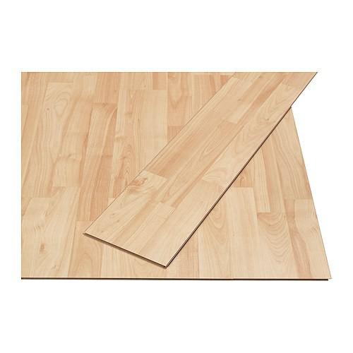 Pavimento in laminato Ikea Tundra effetto acero
