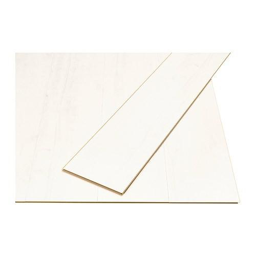 Pavimento in laminato Ikea Tundra bianco