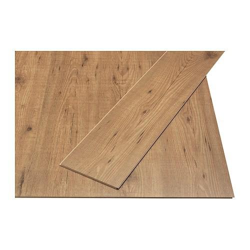 Pavimento in laminato Ikea Tundra effetto pino/effetto anticato