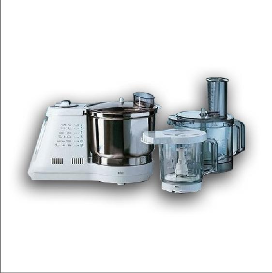 Braun Multisystem K 3000 robot da cucina multifunzione, potenza 950 watt, capacità 4 Kg. Prezzo indicativo 330 euro