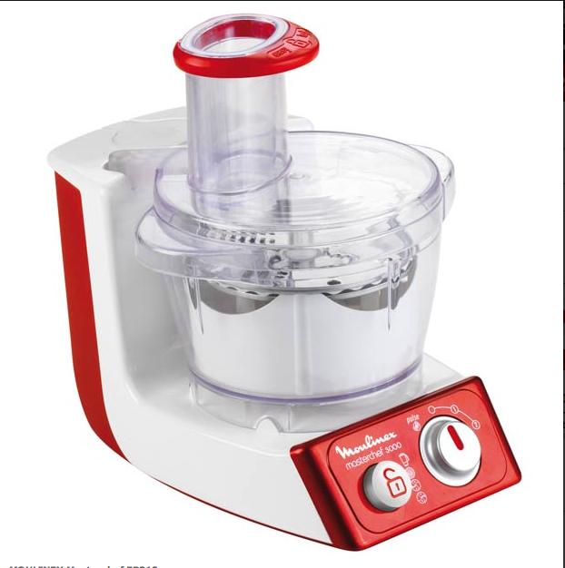 Moulinex Masterchef FP312 robot da cucina multifunzione, potenza 750 watt, 2  velocità, funzione pulse, capacità 2,1 l. Prezzo indicativo 80 euro