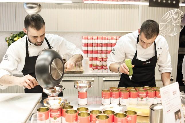 ARC LINE corso Monforte, 28. chef: Christian e Manuel Costardi (ristorante Da Christian e Manuel) ricetta: Costardi's tomato rice. Un omaggio a Andy Warhol. Credits: @LUZ Alessandro Grassani