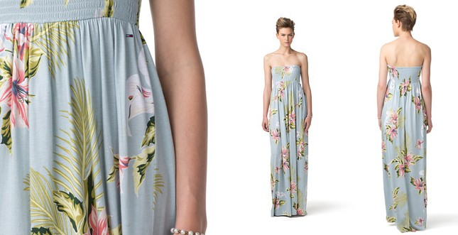 maxi dress FREDERIQUE PRINTED by Tommy Hilfiger (tableau by Ac)