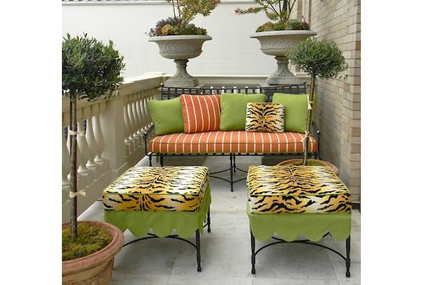 Come ti arredo il terrazzo con verde, rigato e tigrato: Fank Holbrook (GRS Canada)
