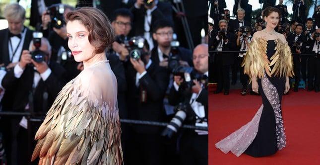 Laetitia Casta in Dior Haute Couture © AFP