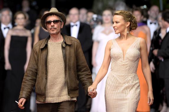 Leos Carax e Kylie Minogue © AFP