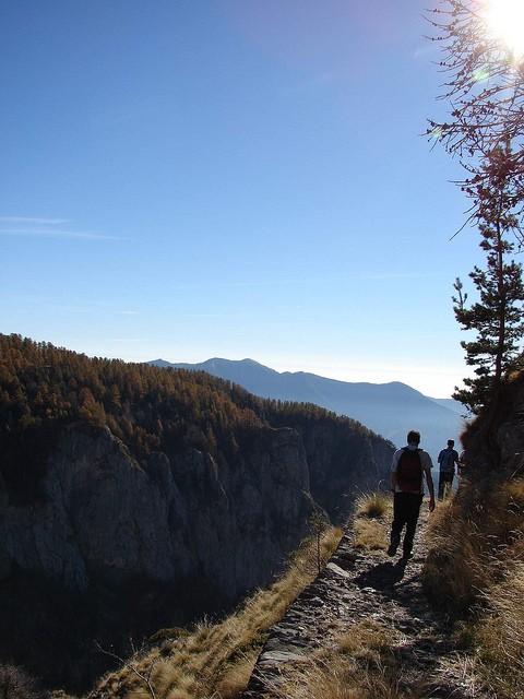 Sentiero degli Alpini, conosciuto tra i più bei sentieri della Liguria