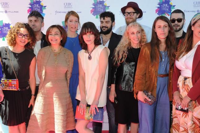 Desirée Bollier, Milla Jovovich, Franca Sozzani in mezzo ai giovani designers