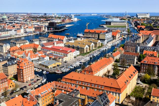 Copenhagen, tetti e canali