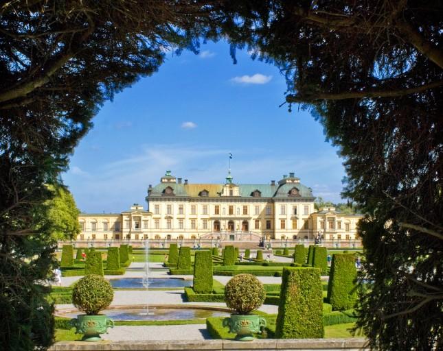 I giardini a Drottningholm