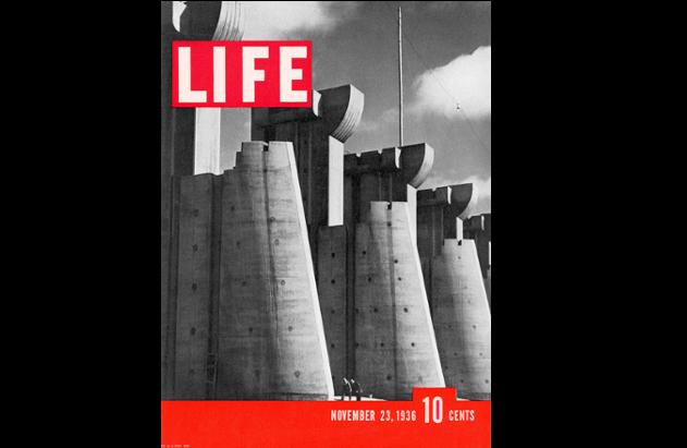 La copertina del primo numero di Life / @Life