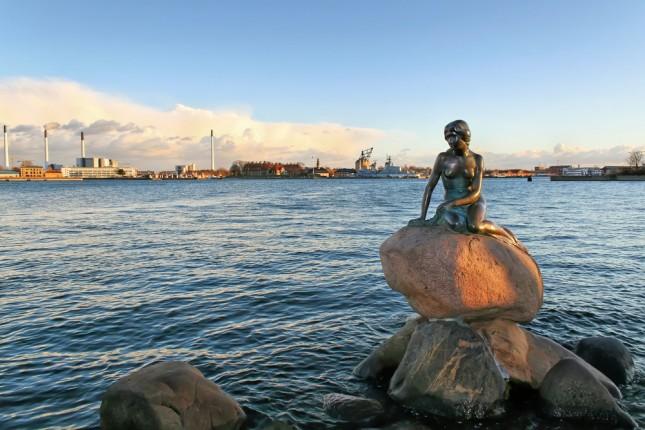 la statua della Sirenetta, Copenhagen