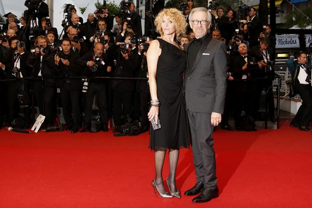 Steven Spielberg et Kate Capshaw alla montée des marches / © AFP