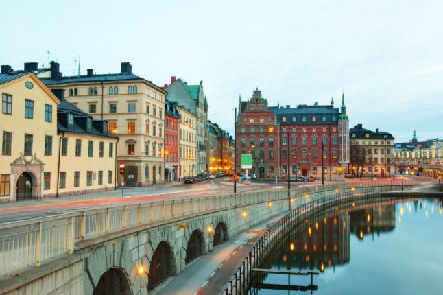 strade di Stoccolma