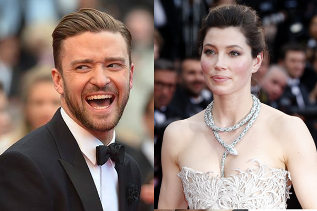 Justin TImberlake e Jessica Biel, secono molti la coppia più carina di Cannes / @ AFP