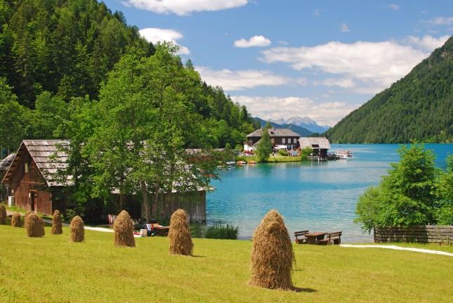 Lago Weissensee, Carinzia