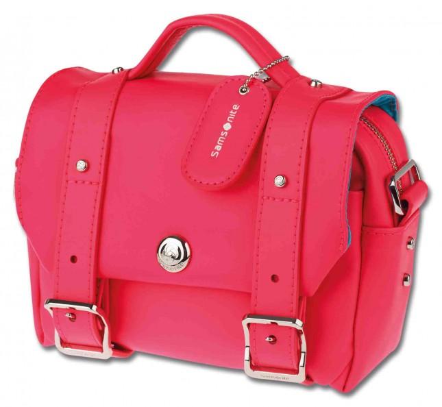 Samsonite Messanger Bag rosa fluo