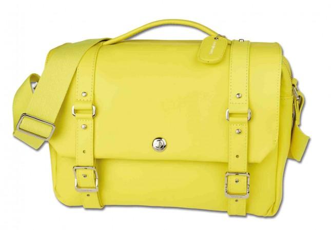 Samsonite Messanger Bag giallo fluo