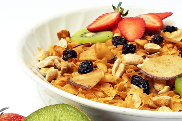 Fibra e vitamine? Frutta e cereali!