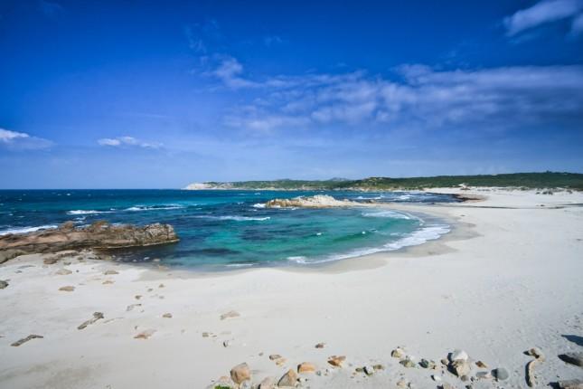 spiagge in Gallura, Sardegna