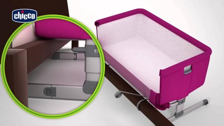 Culla Chicco per Co-sleeping Next2Me ideale fino ai 6 mesi  Si aggancia al lettone