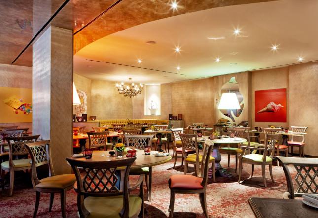 Tschuggen Hotel, Ristorante La Collina