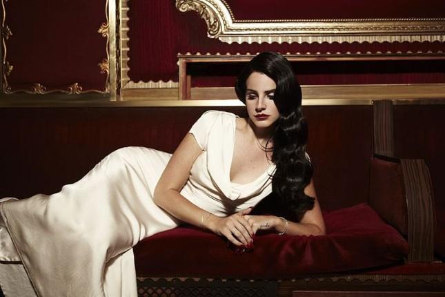 La cantante Lana Del Rey.