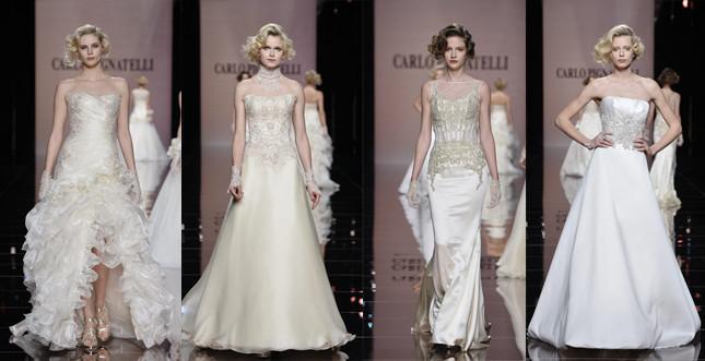 Collezione abiti sposa Carlo Pignatelli 2014