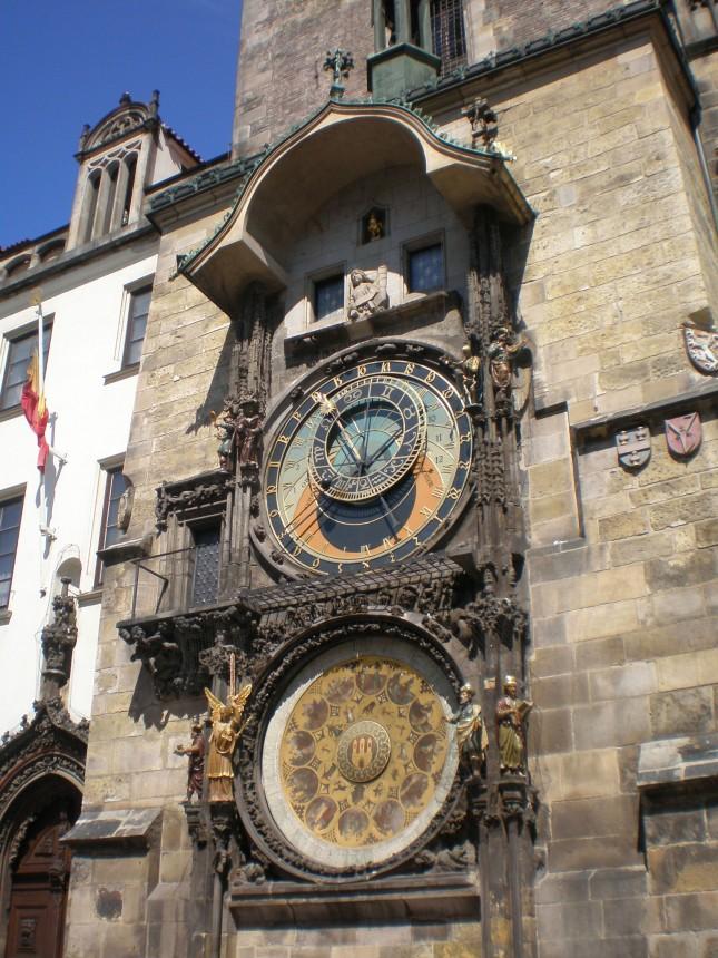 L'orologio atronomico sulla Torre del Municipio