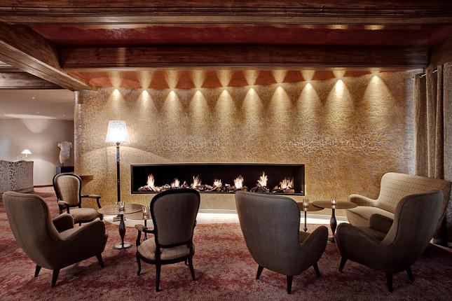Tschuggen Hotel, interni