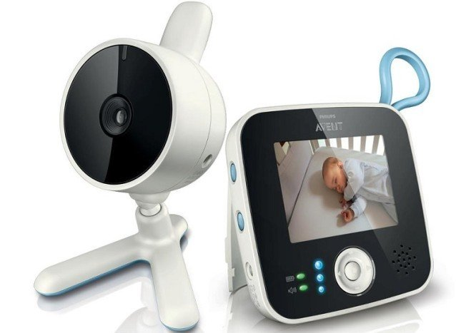 Baby monitor Avent video