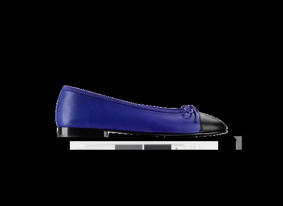 Ballerina bicolore Chanel tacco 5cm pe 2013