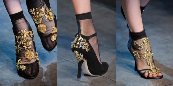 Décolleté e sandali Dolce e Gabbana collezione primavera/estate 2013