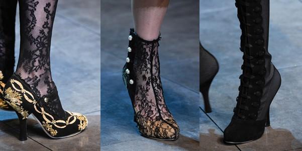 Décolleté e stivali Dolce e Gabbana