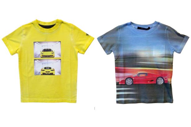 Magliette Ferrari: quale bambino non ne vorrebbe una?