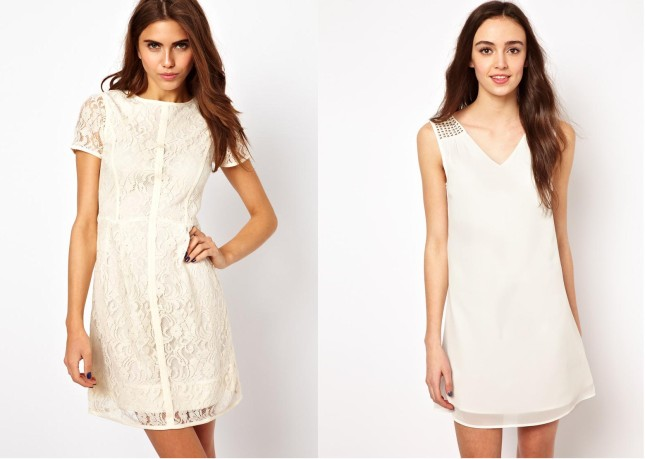 vestiti bianchi asos