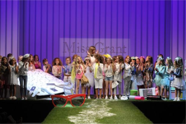 Pitti Bimbo 2013: la scenografia Miss Grant