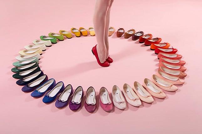 Ballerine multicolori Repetto