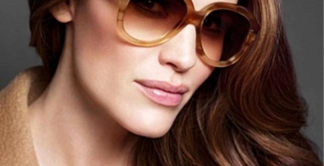 Campagna accessori MAX MARA Fall Winter 2014 - Occhiali DIVA con la testimonial Jennifer Garner