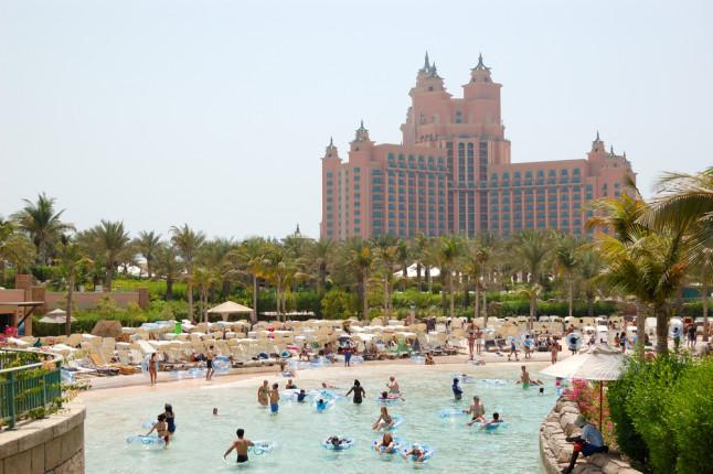 Aquaventure, uno dei più amati parchi acquatici di Dubai