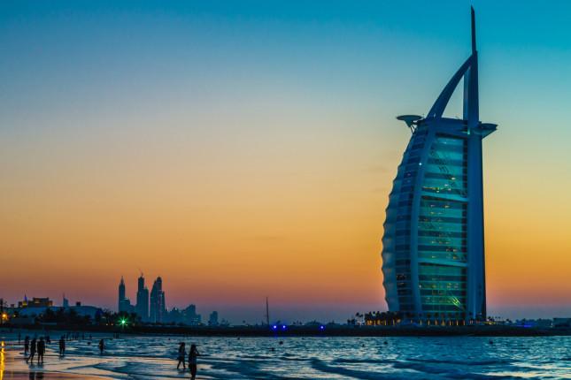 L'hotel del Burj Al Arab è stato il primo extra lusso a sette stelle al mondo