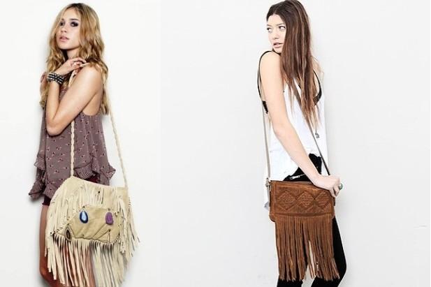 Le borse con frange sono indescrivibilmente cool