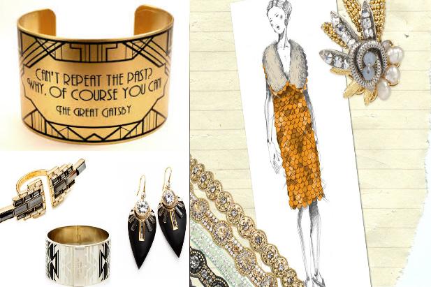 Ispirati all'art decò, i gioielli in stile anni Venti