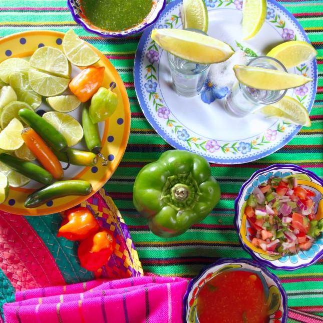 Sapori e colori della cucina messicana