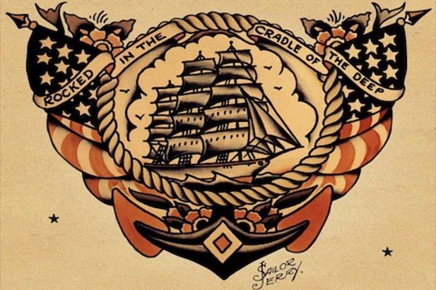 Marina americana - disegno di Sailor Jerry