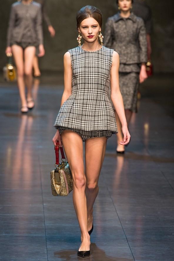 Il tartan secondo Dolce e Gabbana: la collezione autunno-inverno 2013-2014