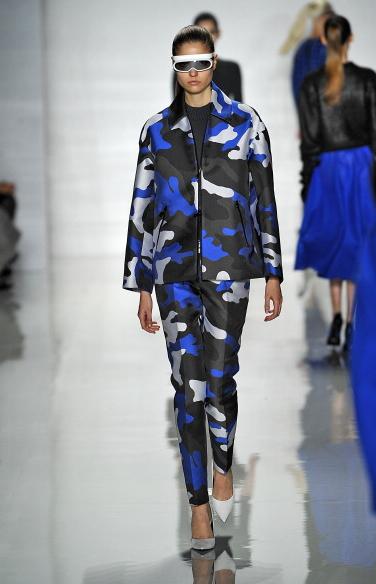 Un nuovo camouflage per i completi autunno-inverno 2013-2014 di Michael Kors